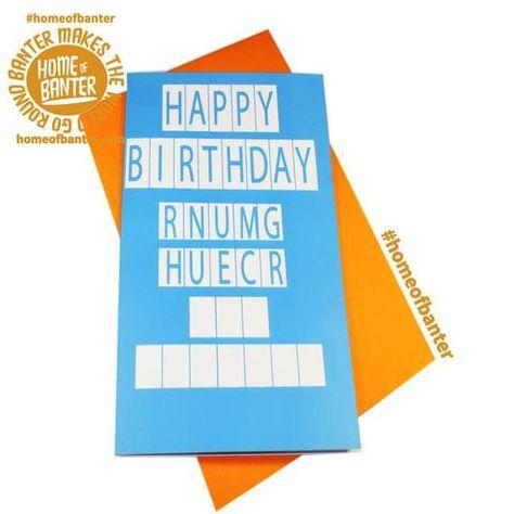 Conundrum Hy Birthday Rug Muncher