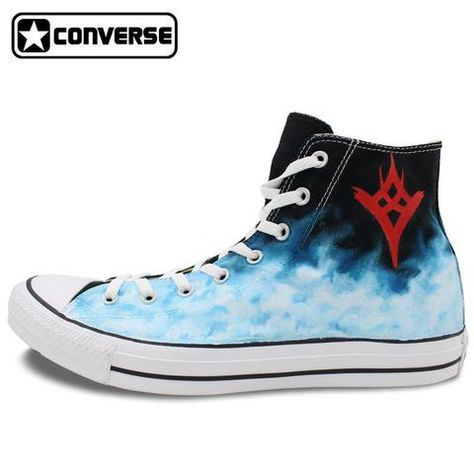 8f10e2bf8c73fa High Top Converse Chuck Taylor Men Women Shoes Destiny The Taken King Design  Hand Painted Canvas Shoes Man Woman Sneakers