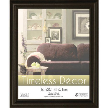 Timeless Frames Boca Photo Frame Size 16 Inch X 20 Inch Black Frames On Wall Picture Frame Sizes Picture Frames