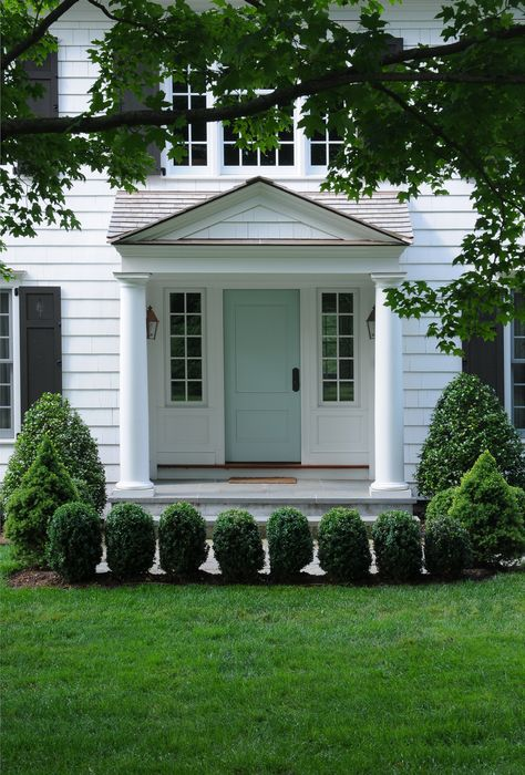 portico entrances on pinterest curb appeal front porches and front doors. Black Bedroom Furniture Sets. Home Design Ideas