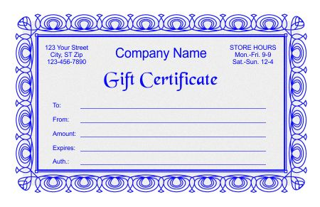 Free gift certificate templates in word indesign and corel draw free gift certificate templates in word indesign and corel draw formats things i like pinterest free gift certificate template gift certificate yadclub Choice Image