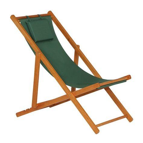 Siena Garden Faro Beach Liegestuhl Holz Textilene In 2020