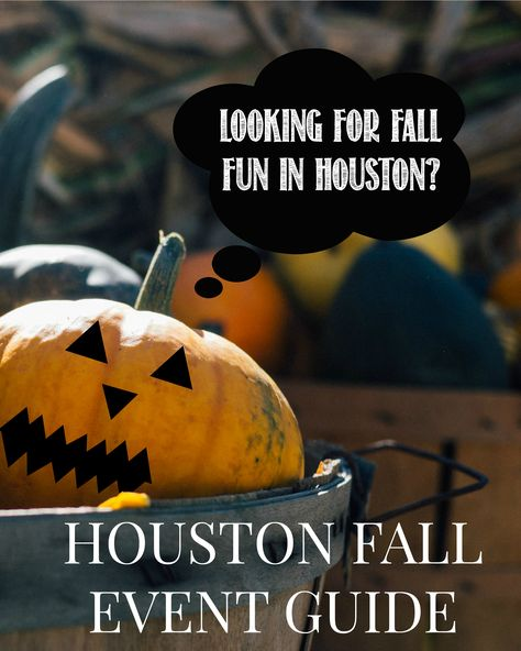 Looking for things to do in Houston this fall (2016)? I've got the perfect event guide to Houston filled with festivals, Halloween in Houston, and Houston pumpkin patches! A must read if you're traveling to Houston or live in Space City! // www.ElleTalk.com