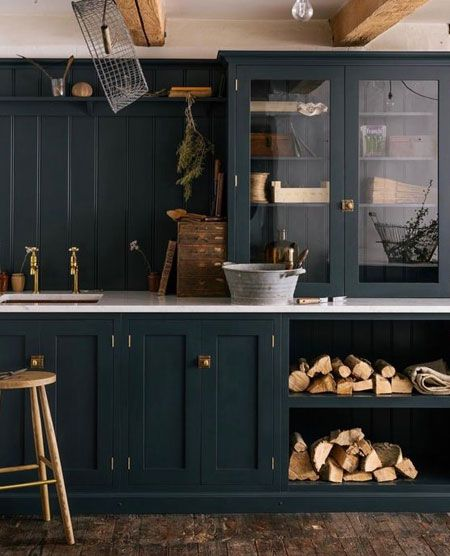 Shaker Style Kitchen Cabinets Are Defined By A Thin Strip Of Panelling Around Doors And Possibly Ev Contemporary Kitchen Kitchen Cabinet Styles Kitchen Trends