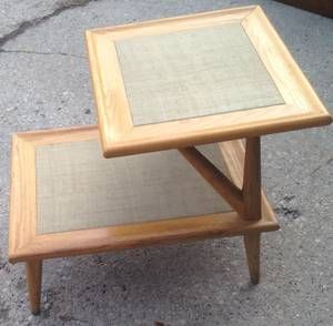 Mid Century End Table Furniture End Tables Mid Century