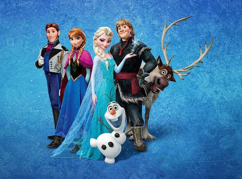 """OK, so Frozen is the biggest animated movie EVER... 