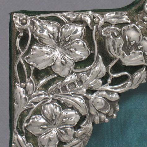 Antique Victorian Sterling Silver Art