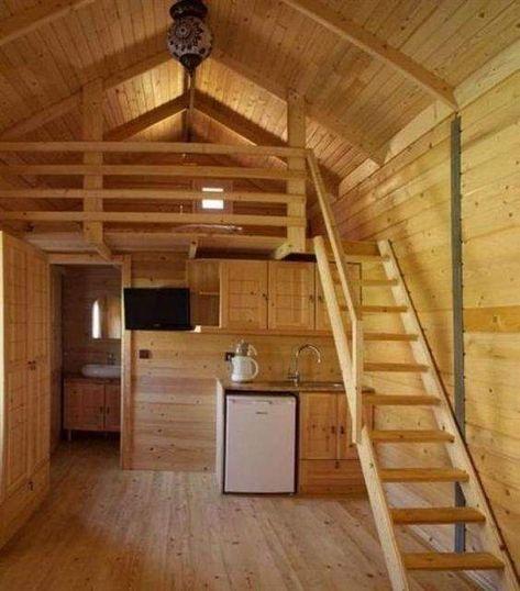 Interesting Small Cabin Ideas Interior