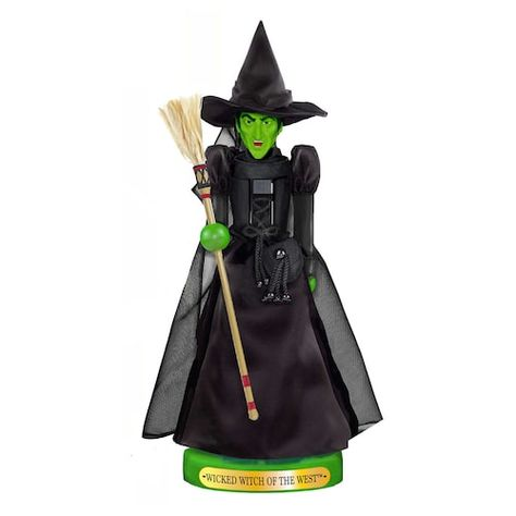 Kurt Adler 11-in. Wizard of Oz Wicked Witch of the West Christmas Nutcracker