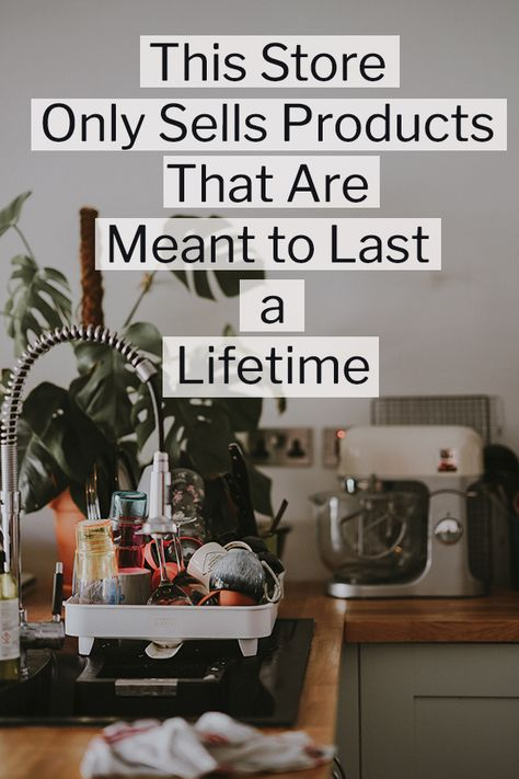 This Online Store Only Sells Gifts That Are Meant to Last a Lifetime - Ecocult