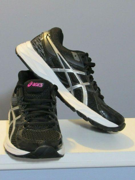 size 3 black asics
