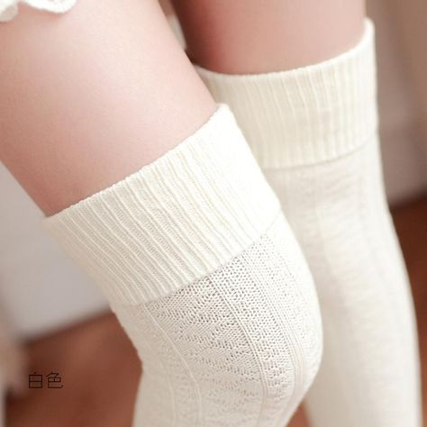 Socken 1 Paar Cosplay Einfarbig Transparent Damen Overknee für Damen