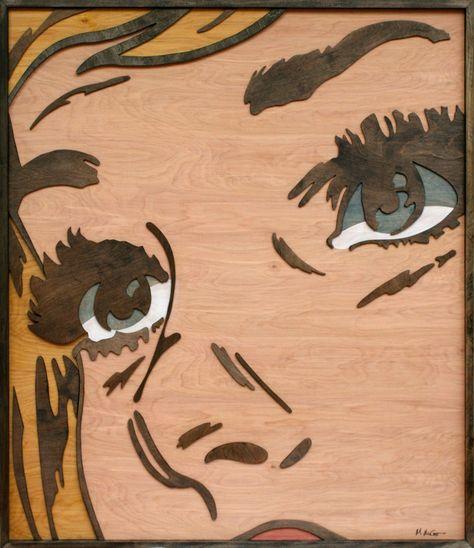 Layered Wood Pop Art - My Modern Metropolis