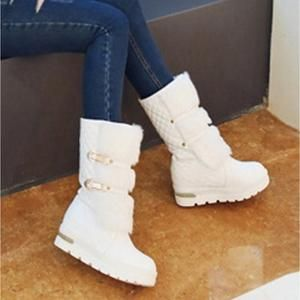 Details about  /Women Denim Ankle Boots Low Block Heel Round Toe Winter Snow Boot Casual fgg02