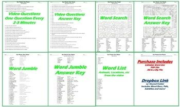 Our Planet One Planet Netflix Video Questions Worksheet Word Search Jumble Netflix Videos This Or That Questions Our Planet