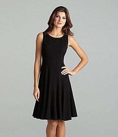 Calvin Klein Scoopneck Chain-Belt Dress | Dillards.com | Fashion ...
