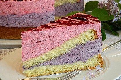 Himbeer Heidelbeer Torte Rezept Heidelbeer Torte Himbeeren Und Torten