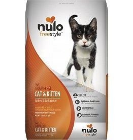 Nulo Nulo Freestyle Cat Kibble Turkey Duck 12 Lbs Cat Food Brands Dry Cat Food Cat Food