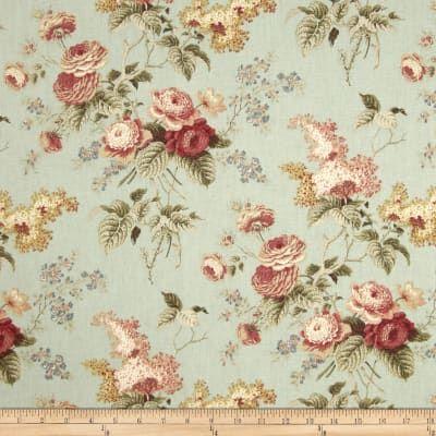 Waverly Emma S Garden Mist Fabric Decor Floral Drapery Fabric Floral Drapery