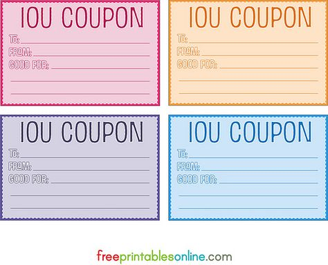 Iou Coupons Boy I Could Rake It In If I Used These In My House