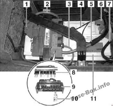 Bmw 3 Series E90 E91 E92 E93 2005 2013 Fuse Box Diagram Fuse Box Bmw 3 Series Bmw