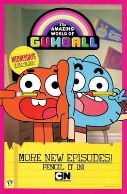 The Amazing World Of Gumball Poster El Increible Mundo De