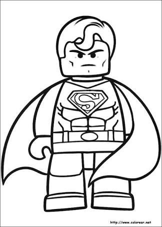 Resultado De Imagen Para Batman Lego Para Colorear En 2020