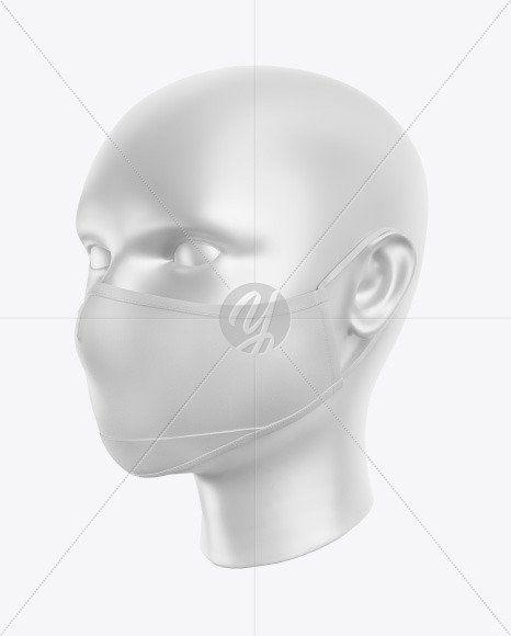 Download Nose Mask Mockup Free Download One Piece Face Mask Mockup In Apparel Mockups On Yellow Images Mockup Free Psd Design Mockup Free Clothing Mockup