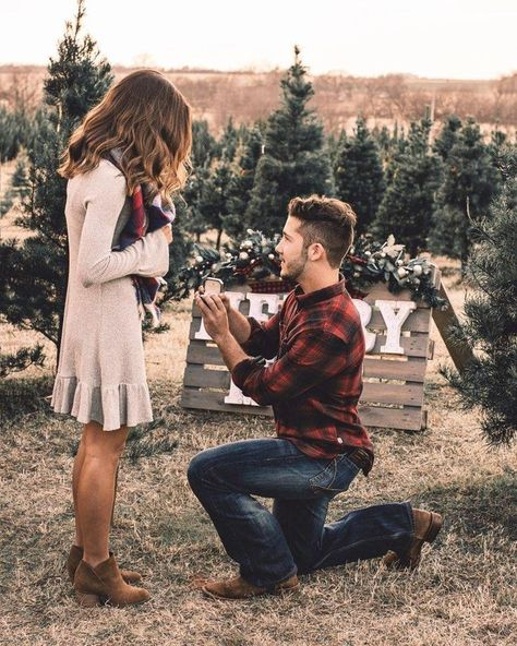 Blanc Denver Loves These Ideas For How To Pop The Question Will You Marry Me Engagement Blancdenver Wedding Proposals Tree Farm Proposal Proposal Pictures