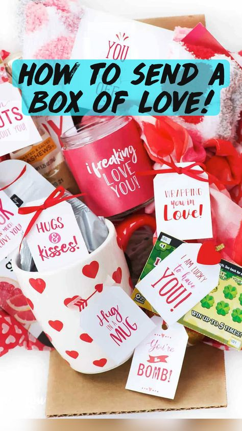 How to send a box of Love!