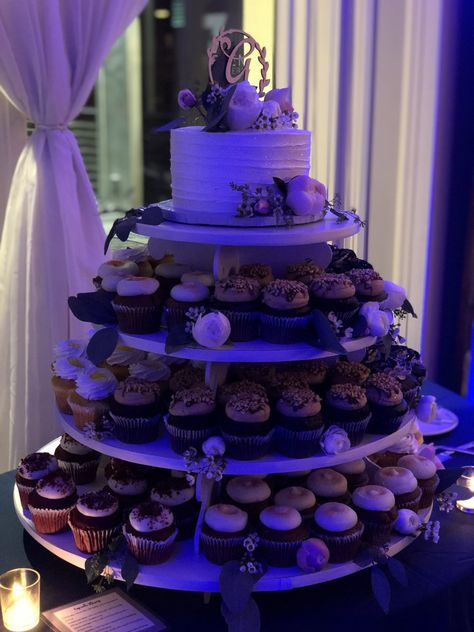 #weddingcake #cupcakes #cupcaketower #cakedisplay #weddingcakeideas #roses #greenery #reception #cake #caketopper #rusticcake #weddingcakeideas #weddingcakeinsporation #weddingcupcaketower #weddingvenue #receptionvenue #firstcakecut #cakeflowers #weddingflowerideas #ronjaworskiweddings #blueheronweddings #njvenue #njreceptionvenue #njbride #njwedding #coastalwedding #eveningwedding #springwedding #summerwedding #fallwedding #winterwedding #weddingdessert #weddingcakeinsportation