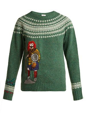 Click here to buy Kilometre Paris Skye embroidered wool sweater at MATCHESFASHION.COM