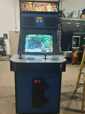 Ebay Sponsored X Men Vs Street Fighter By Capcom Arcade Coin Operated Amusement Game Arcade Coin Operated Man Vs