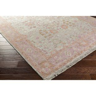 One Allium Way Loire Hand Knotted Wool Taupe Rug Wayfair In 2020 Pink Area Rug Area Rugs Rugs