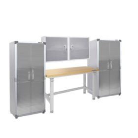 Seville Classics Ultrahd 2 Door Rolling Cabinet In 2020