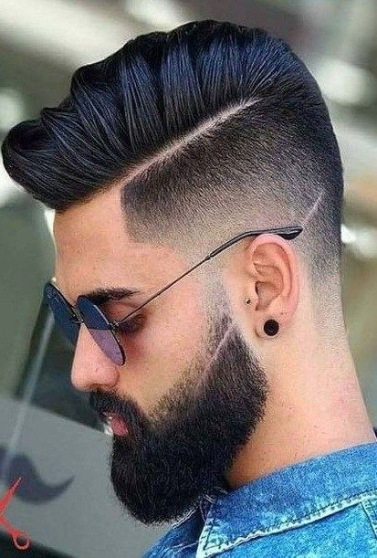 Be Part Of The Latest Fab With The Stylish Pompadour Undercut