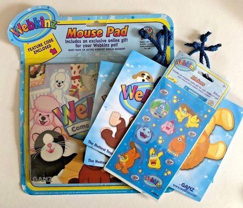 Includes an Exclusive Online Gift for Your Webkinz Pet Webkinz Stickers