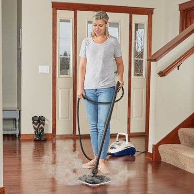 Spring Cleaning With The Steammachine Elite Giveaway With Images Spring Cleaning Cleaning Stained Concrete