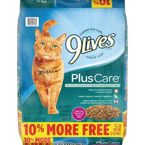 9lives Plus Care Dry Cat Food Bonus Bag 13 2 Pound Walmart Com In 2020 Best Cat Food Dry Cat Food Cat Food