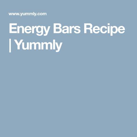 Energy Bars Recipe   Yummly