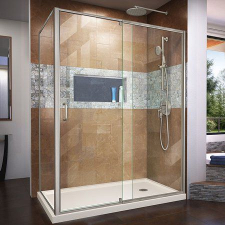 Home Improvement Shower Doors Corner Shower Kits Frameless