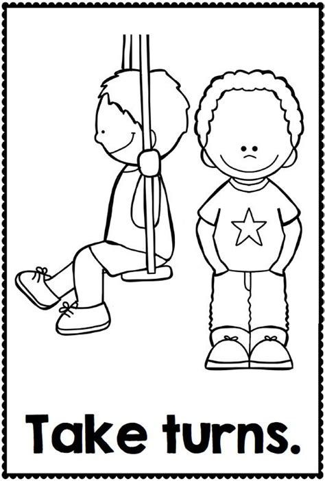 Coloring Pages For Good Behavior Ecosia Classroom Print