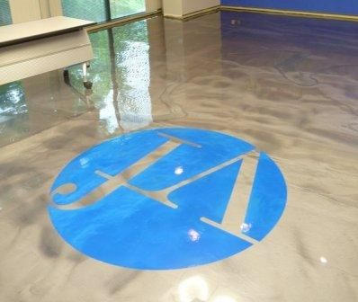 Even a simple, well-place floor decal can attract the interest of buyers.