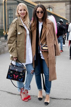 On the street at Paris Fashion Week. 43 Sexy Street Style Looks You Should Already Own – On the street at Paris Fashion Week.