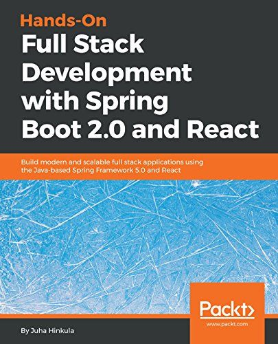 Hands-On Full-Stack Development with Spring 5 and React pdf
