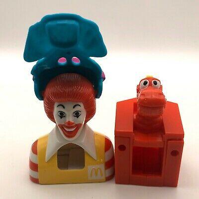 Happy Meal Halloween 2020 Vintage Lot Of 2 McDonalds McDino Happy Meal  O  Don & Halloween