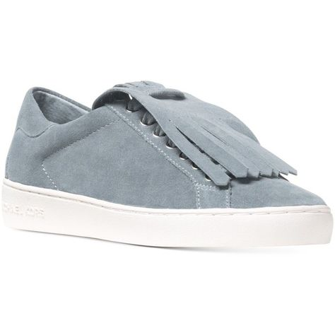 31dde889cae5 Michael Michael Kors Keaton Kiltie Sneakers ( 95) ❤ liked on Polyvore  featuring shoes