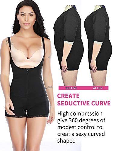 Seamless Body Shaper Open Bust Shapewear Firm Control Bodysuit for women Royal M