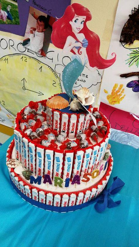 Fai da te: come realizzare la torta di barrette kinder | Si fa presto a dire Mamme
