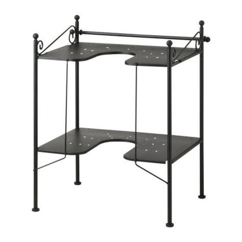 RÖNNSKÄR Sink shelf   - IKEA  should work under most sinks that have plumbing below